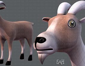 3D model Goat V01