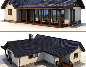 3D model Terrace House