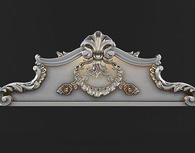 carved crown 3D print model