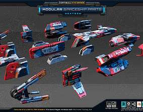NextGEN - Modular Spaceship Parts 3D asset