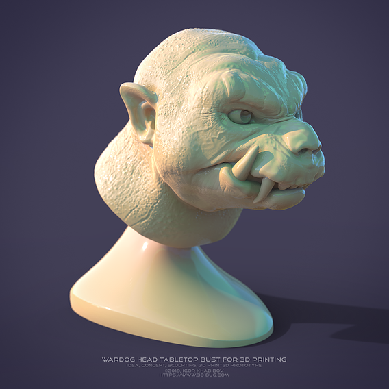 Creature (3DP/WIP)