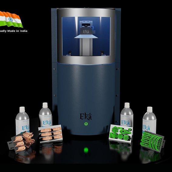 DLP printer 3d model PBR