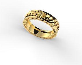Versace Ring 3D print model jewelry