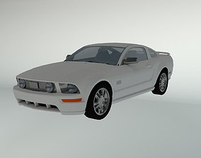 3D model realtime Ford Mustang GT