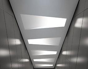 3D model Suspended ceiling 003