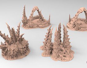 Tyty bug party terrain remix Part 9 3D printable model