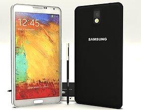 3D model Samsung galaxy note 3