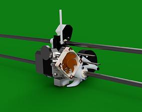 3D printable model Titan Aero Mount V3 both versions for 1