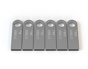 Kingston USB Stick 3D model