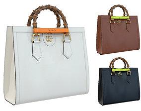 Gucci Diana small tote bag 3D asset