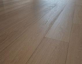 Pearl wooden oak flooring 3D model