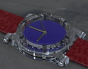 3D printable model 2nd Crystal Sapphire Watch Case for