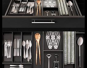 3D model Kitchen case