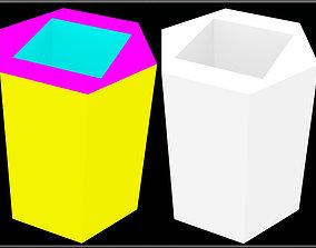 3D asset Hexagon - Square Hole