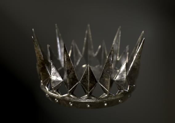 Old Medieval Dark Crown