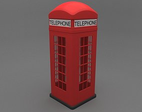 Phone Booth telephone 3D
