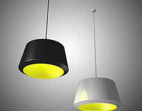 Can Pendant Lamp by Zero 3D model