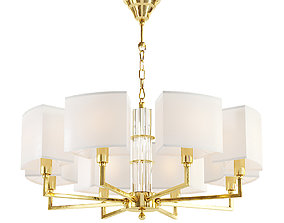 3D Maytoni Metropolitan H015PL-08G chandelier