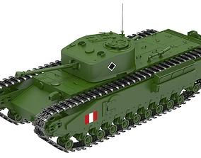 Churchill Crocodile Tank 3D
