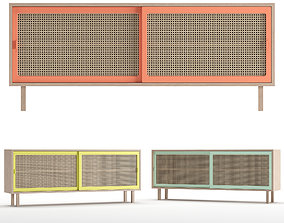 STRAW sideboard large 3D