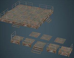 Stage Platform 1B 3D model