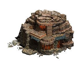 Desert - Stone House 02 3D model