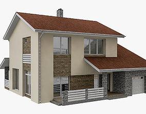 3D model Modular Townhouse