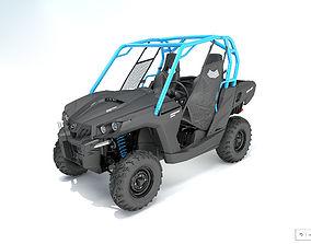 3D model Commander BRP cam am