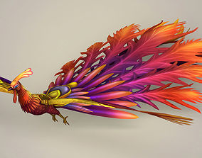 Fantasy Phoenix 3D asset