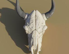 Cow Skull 3D