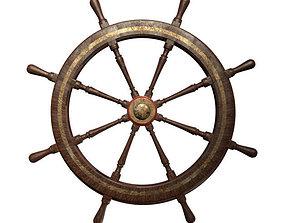 chart Ships Wheel 3D model