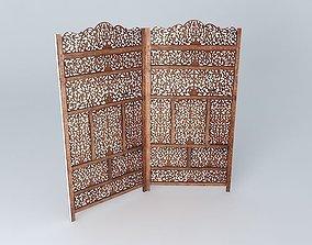 3D model Screen ALHAMBRA houses the world