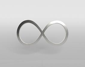 Unlimited Symbol v1 004 3D model