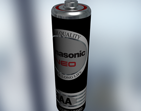 Battery size-AA 3D
