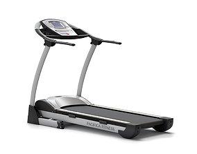 Treadmill EUROFIT Pacifica fitness 3D model
