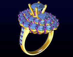 rings DIAMOND JEWELLERY 3D printable model