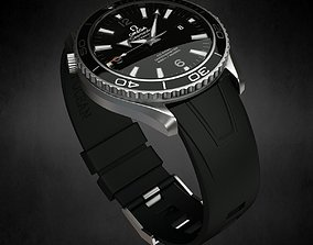 3D Omega Seamaster Watch