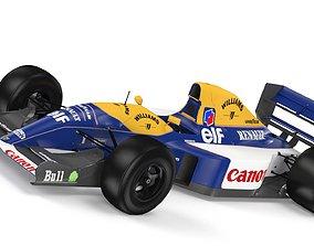 williams 3D model F1 Williams FW14 1992