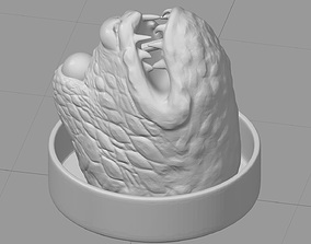 3D print model Sixth Scale Jabba The Hutt Throne 3