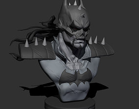 batman who frags 3D print modelREADY