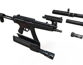 3D asset MP5 Game Ready Kit