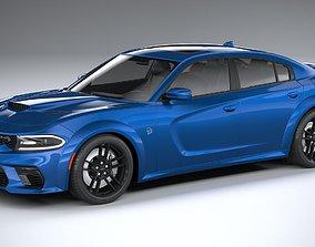 3D model Dodge Charger SRT Hellcat Widebody 2020
