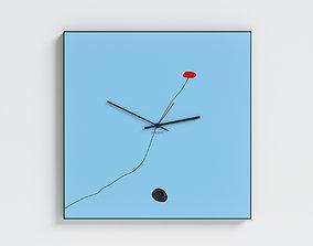 Miro Wall Clock by dESIGNoBJECT 3D
