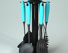 Kitchen Utensil Stand 3D model