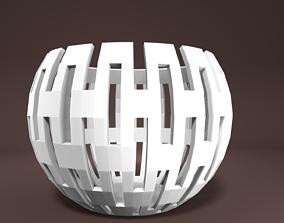 Housedecoration - Tealightholder tealight 3D print model