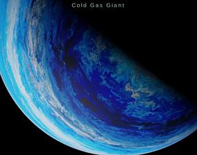 3D asset Alien planet model 5 - 16k photorealistic - 2