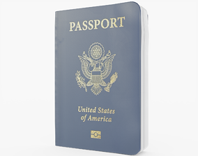 3D asset Passport USA
