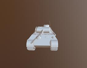 World War II - Panther Panzer V 3D