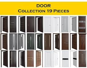 DOOR Collection 19 pieces door 3D model