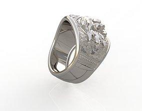 3D printable model Anillo Leon anillo